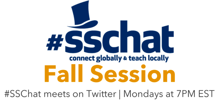 Special Announcement! Fall 2017 #SSChat Schedule