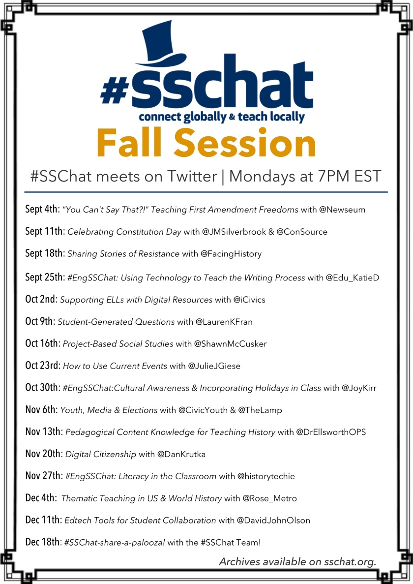 SSChat Fall Session