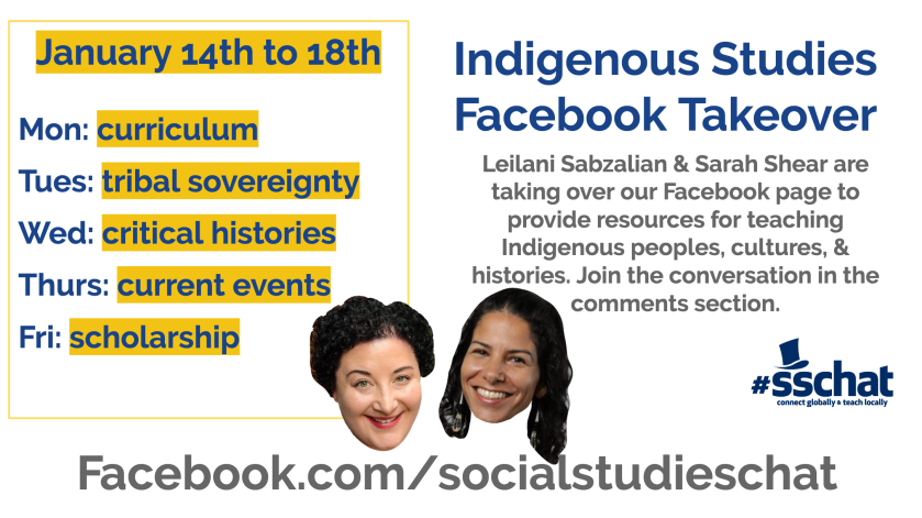 indigenous studies facebook takeover